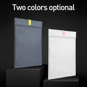 Baseus Sleeve Case Kulit Laptop 16 Inch - LBQY-BGY - White - 7
