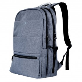 Hoco Tas Ransel Laptop Leisure Style Fit To 15.6 Inch - HS4 - Gray