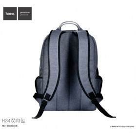Hoco Tas Ransel Laptop Leisure Style Fit To 15.6 Inch - HS4 - Gray - 2