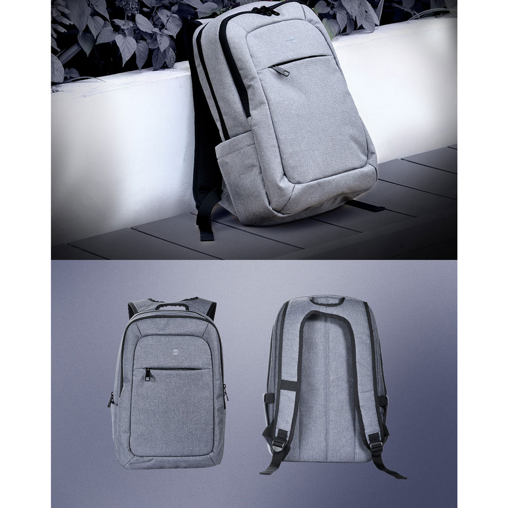 ... Hoco Tas Ransel Laptop Leisure Style Fit To 15 Inch - HS3 - Gray - 4 ...