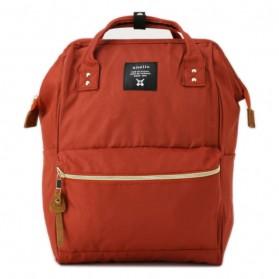 Tas Ransel Laptop / Backpack Notebook - Anello Tas Ransel Oxford 600D Size L - Orange