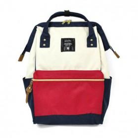 Anello Tas Ransel Oxford 600D Size L - White/Red - 2
