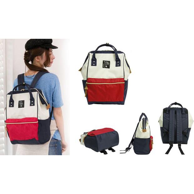 Anello Tas Ransel Oxford 600D Size L - White Red - JakartaNotebook.com e91f2fe118