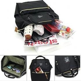 Anello Tas Ransel Oxford 600D Size L - Black/Red - 5