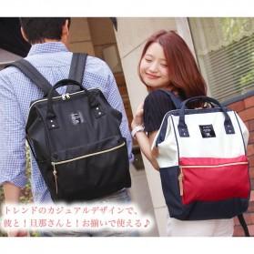 Anello Tas Ransel Oxford 600D Size L - Black/Red - 8