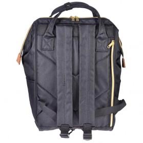 Anello Tas Ransel Oxford 600D Size L - Black/Red - 9