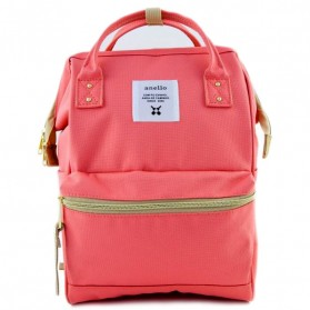Anello Tas Ransel Oxford 600D Size L - Light Pink