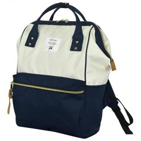 Anello Tas Ransel Oxford 600D Size L - White/Blue - 1