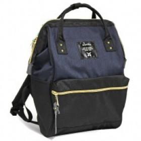 Anello Tas Ransel Oxford 600D Size L - Blue/Black