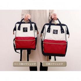 Anello Tas Ransel Oxford 600D Size S - White/Red - 8