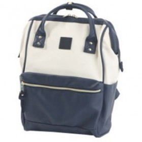 Tas Ransel Anello Handle Backpack Campus Rucksack L Size - Navy Blue