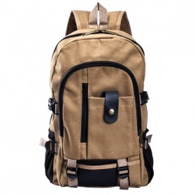 Outlife Tas Ransel Canvas - HM104 - Khaki