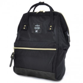 Anello Tas Ransel Light Shinny Nylon - Black