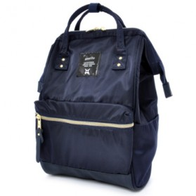 Anello Tas Ransel Light Shinny Nylon - Blue