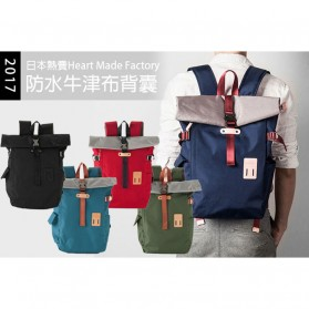 Heart Made Factory Tas Ransel Canvas Size L - Black - 2
