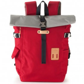 Heart Made Factory Tas Ransel Canvas Size L - Red