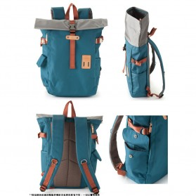 Heart Made Factory Tas Ransel Canvas Size L - Red - 4