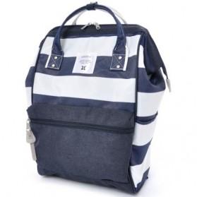 Anello Tas Ransel Stripe Series Size L - Blue/White