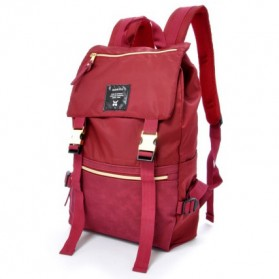Anello Tas Ransel Buckle Nylon - Red