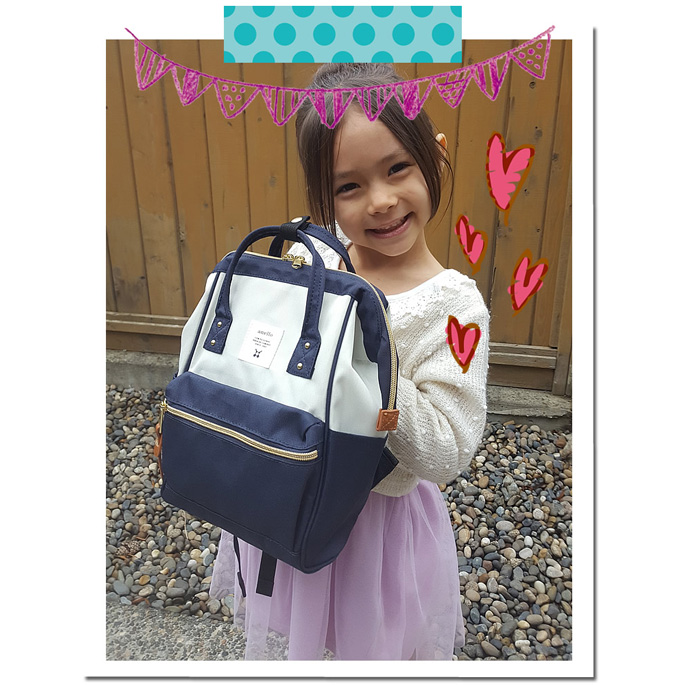 Anello Tas Ransel Oxford 600D For Kids