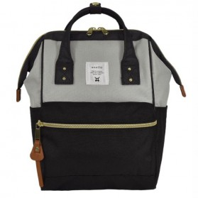 Anello Tas Ransel Oxford 600D for Kids - Black/Gray