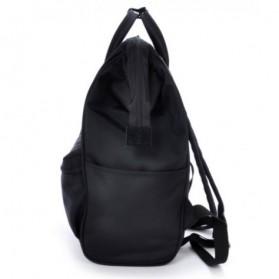 Anello Limited Edition All Black Tas Ransel Canvas Size XL - Black - 3