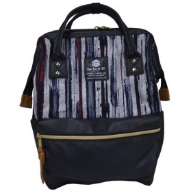 Tas Ransel Laptop / Backpack Notebook - Anello Sun Earth & U Tas Ransel Trendy - Black