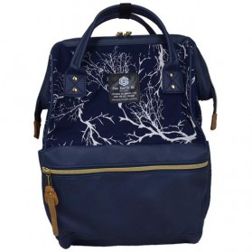 Tas Ransel Laptop / Backpack Notebook - Anello Sun Earth & U Tas Ransel Trendy - Blue