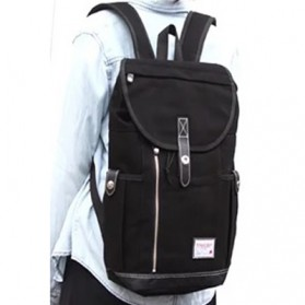 Anello Wonderland Tas Ransel Canvas - Black