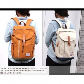 Anello Wonderland Tas Ransel Canvas - Blue - 4