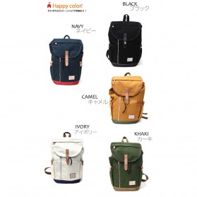 Anello Wonderland Tas Ransel Canvas - Blue - 5