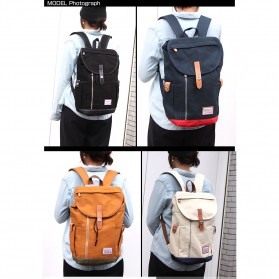 Anello Wonderland Tas Ransel Canvas - Blue - 6