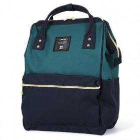 Anello Tas Ransel Oxford 600D Zipper Back Size L - Green/Blue