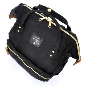 Anello Tas Ransel Oxford 600D Zipper Back Size L - Gray/Yellow - 2