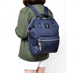 Anello Tas Ransel Oxford 600D Zipper Back Size L - Gray/Yellow - 6