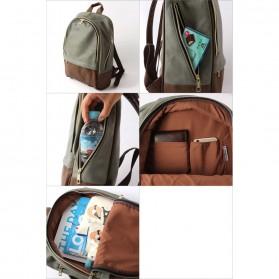 Tas Ransel Legato Largo Backpack L Size - Black/Gray - 8