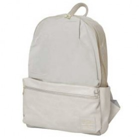 Tas Ransel Legato Largo Backpack PU + Nylon - Cream