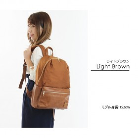 Tas Ransel Legato Largo Backpack PU + Nylon - Cream - 3