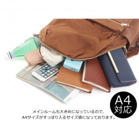 Tas Ransel Legato Largo Backpack PU + Nylon - Cream - 6