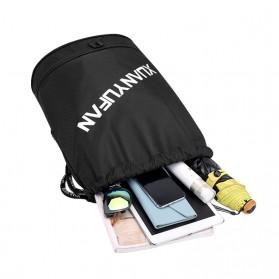 XUANYUFAN Tas Ransel Serut Sport Drawstring Bag - GSFL-A - Black - 2
