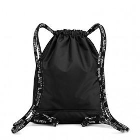 XUANYUFAN Tas Ransel Serut Sport Drawstring Bag - GSFL-A - Black - 5