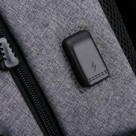 Mark Ryden Tas Ransel Laptop dengan USB Charger Port - MR5790D - Black - 5