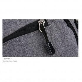 Mark Ryden Tas Ransel Laptop dengan USB Charger Port - MR5790D - Black - 8