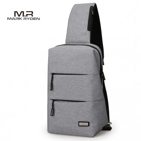 Mark Ryden Tas Selempang Kasual Crossbody Bag - MR5935 - Gray