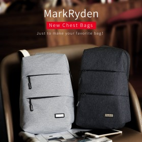 Mark Ryden Tas Selempang Kasual Crossbody Bag - MR5935 - Gray - 5