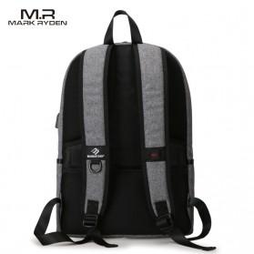 Mark Ryden Tas Ransel Laptop dengan USB Charger Port - MR5968 - Gray - 3
