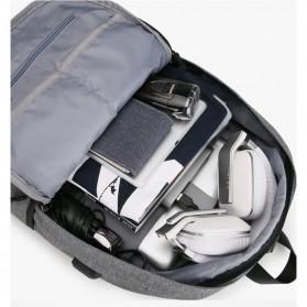 Mark Ryden Tas Ransel Laptop dengan USB Charger Port - MR5968 - Gray - 4