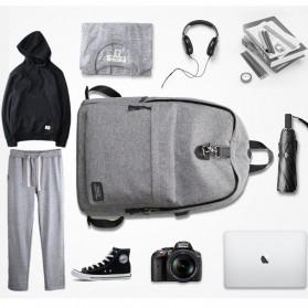 Mark Ryden Tas Ransel Laptop dengan USB Charger Port - MR5968 - Gray - 5