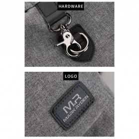 Mark Ryden Tas Ransel Laptop dengan USB Charger Port - MR5968 - Gray - 7