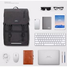 Mark Ryden Tas Ransel Laptop dengan USB Charger Port - MR5748 - Gray - 2